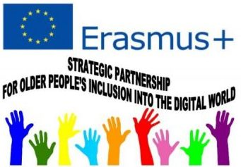 Logo for Strategic Partnership for Older People's Inclusion into the Digital World - SPIDW